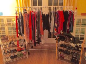 My Closet.  Exposed.